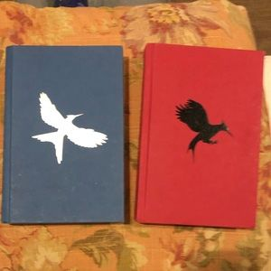 Mocking Jay and Catching Fire By Collins